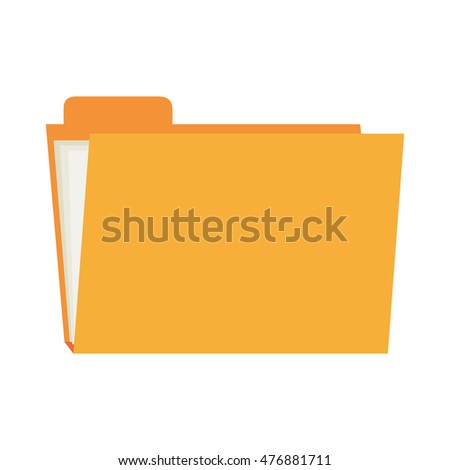 folder file archive  design