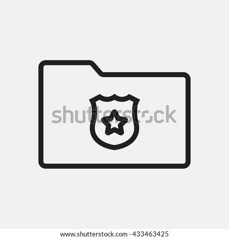 Folder security Icon, Folder security Icon Eps10, Folder security Icon Vector, Folder security Icon Eps, Folder security Icon Jpg, Folder security Icon, Folder security Icon Flat, Folder security - stock vector