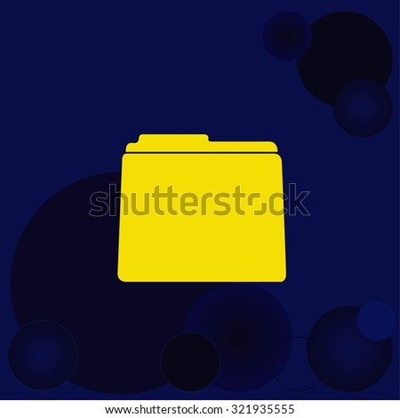 Folders and files icon
