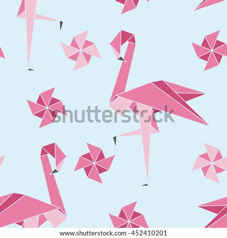 Folding Flamingos