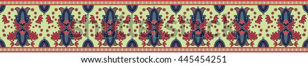 folk border design