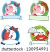 Food Banners. Vector Collection - stock vector