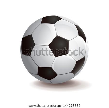 Foot Ball - stock vector