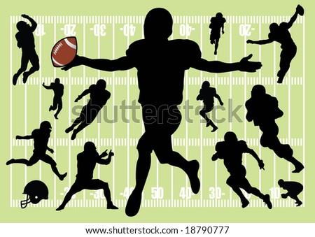 football - stock vector