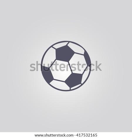 football ball icon.football ball sign.football ball logo - stock vector