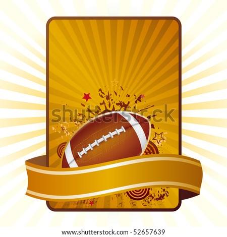 football design element - stock vector