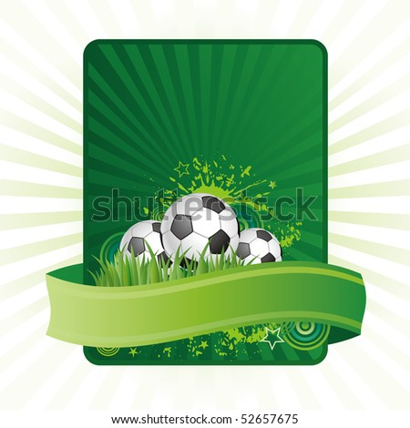 football design elements - stock vector
