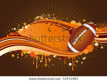 football design elements,red background