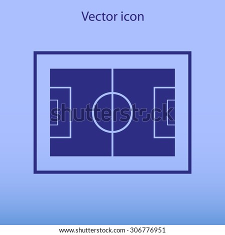 Football field icon