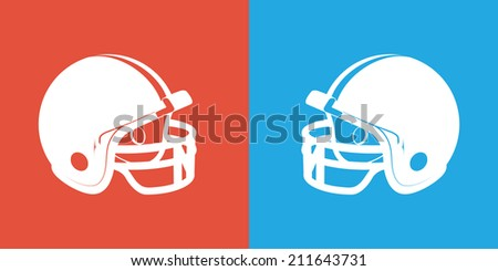 Football Matchup - stock vector