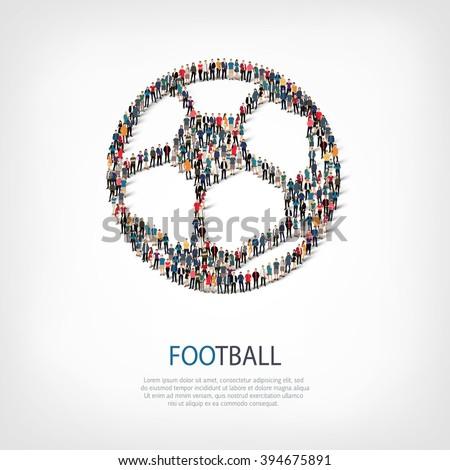 football people sport vector - stock vector