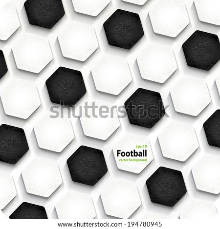 football soccer vector background, cover. Eps10.