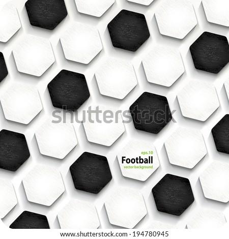 football soccer vector background, cover. Eps10. - stock vector