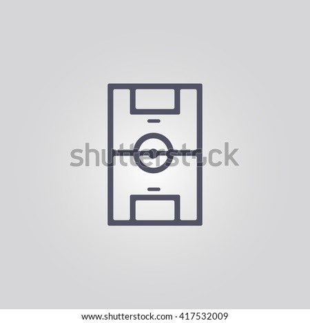 football stadium icon. sport icon - stock vector
