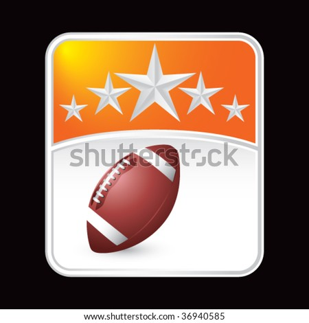 football superstar background - stock vector