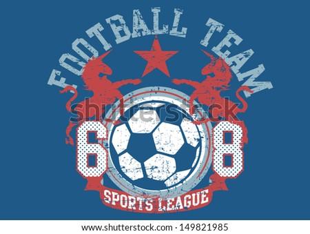 Football Team - stock vector
