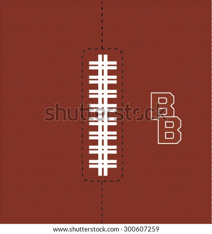 Football texture and for your artwork