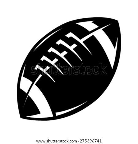Football Vector Icon - stock vector