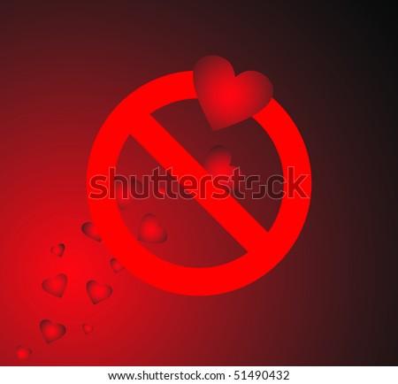 Forbidden Love Stock Vector 51490432 Shutterstock