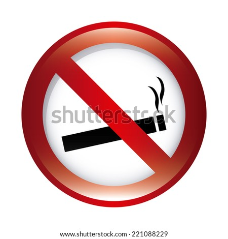 forbidden smoking graphic design , vector illustration