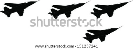 formation stage left - vector - stock vector