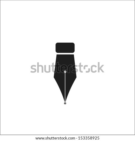 Fountain pen - stock vector