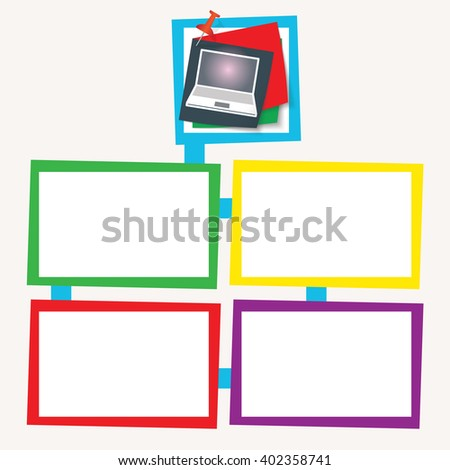 Vector Flat Projection Furniture Set Scale   Shutterstock