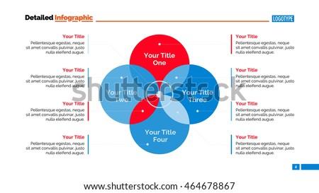 Four sides venn diagram slide template stock vector 464678867 four sides venn diagram slide template ccuart Gallery