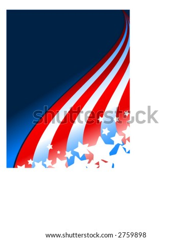 Fourth of July Design - stock vector