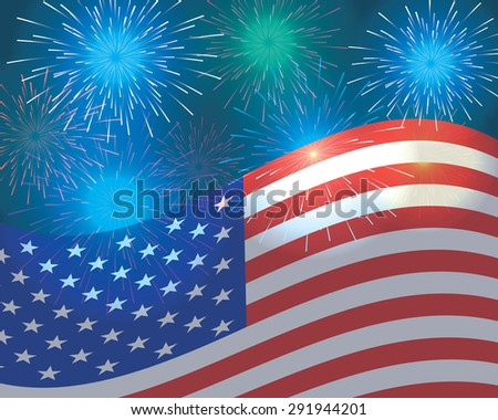 fourth of july. independence day background