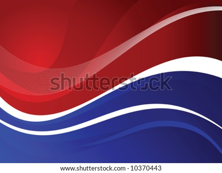 Fourth of July Patriotic Design - stock vector