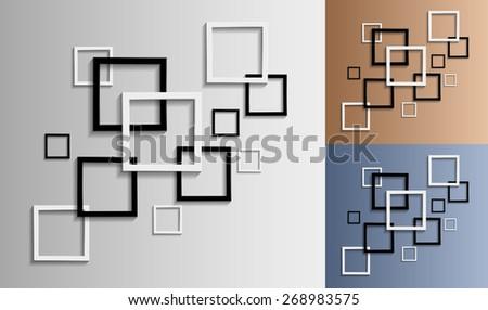 frame background - stock vector