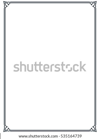 Page Border Stock Images Royalty Free Images Amp Vectors