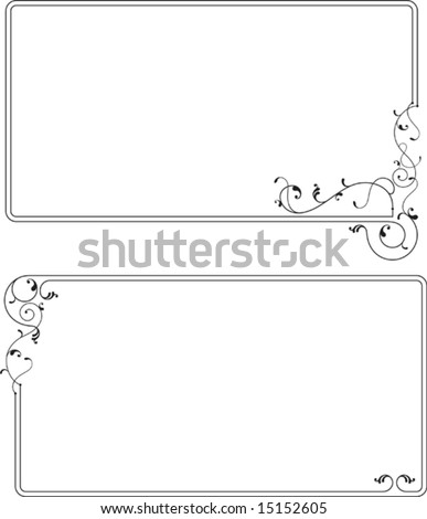 Frame Design (Design Element frame) borders