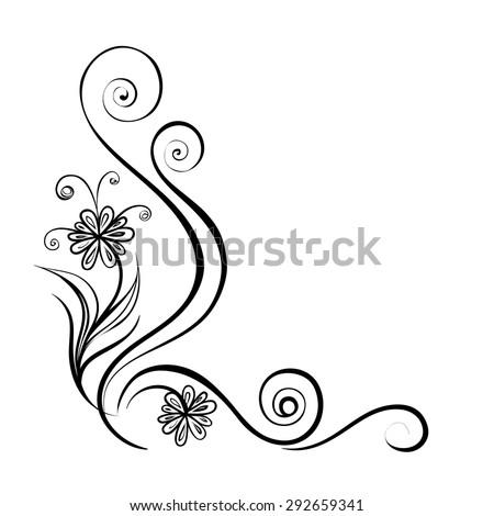 Frame. Vector decorative design elements - stock vector