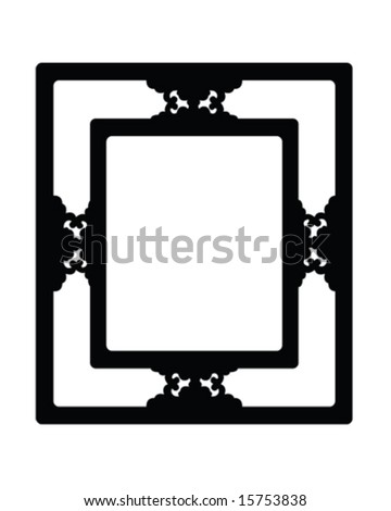 frame vector illustration