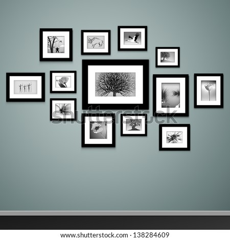 . Wall Picture Frame Stock Images  Royalty Free Images   Vectors