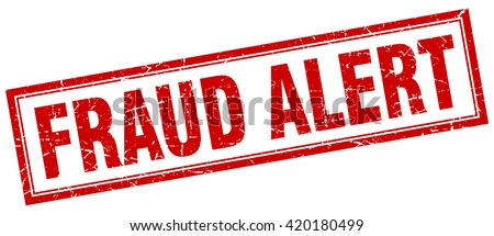 fraud alert red grunge square stamp on white. fraud alert. fraud. alert. fraud alert stamp. fraud alert sign. fraud alert red stamp. fraud alert red grunge stamp. - stock vector