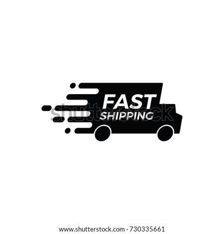 Free Shipping Icon Vector Shipping Logo Stock Vector 730335661 - Shutterstock  Free Shipping I...