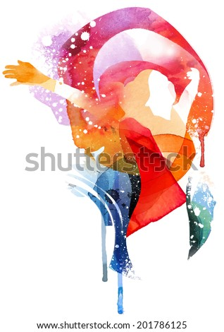 Freedom Fashion - stock vector