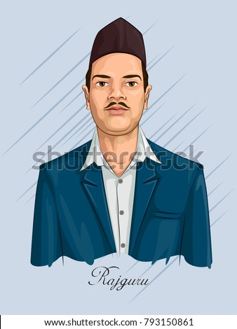 Freedom fighter national hero india rajguru stock vector hd royalty freedom fighter and national hero of india rajguru vector illustration altavistaventures Choice Image