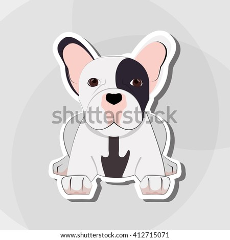 french bulldog design, pet and animal concept
