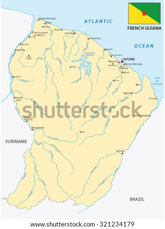 Isometric French Guiana Stock Images RoyaltyFree Images Vectors