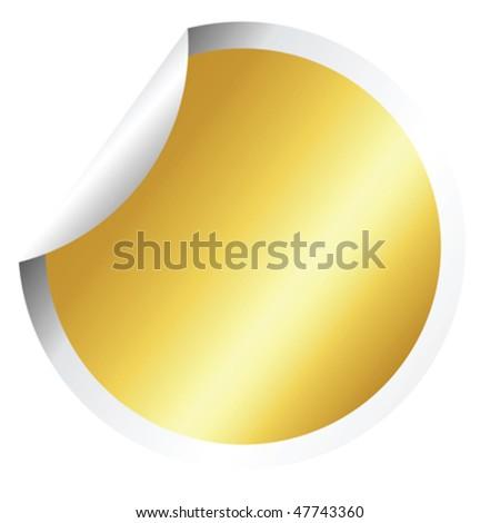 Fresh golden stick - stock vector