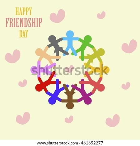 Friendship Day Poster Illustration