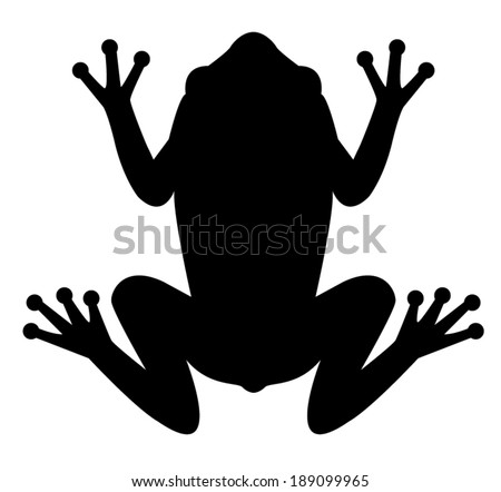 frog icon - stock vector