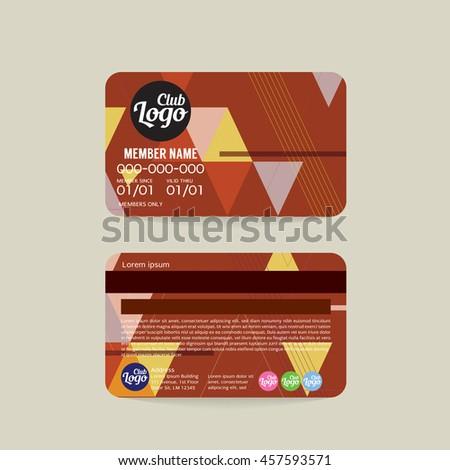 Membership Card Images RoyaltyFree Images Vectors – Club Membership Card Template