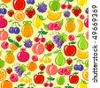 fruit background - stock vector