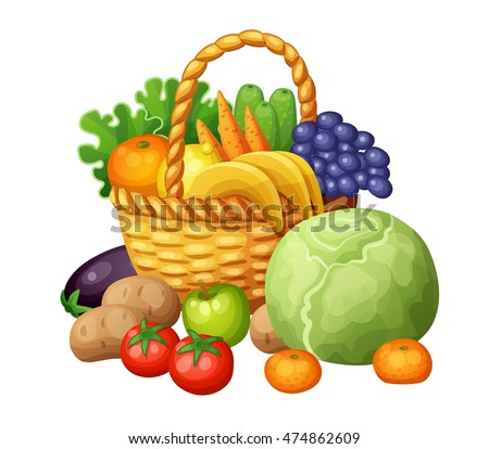 vegetable basket stock images royaltyfree images