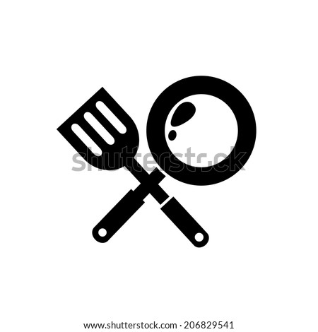 Skillet Pan Drawing Frying Pan Icon